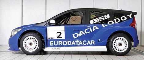 Компания Dacia представила новый гоночный автомобиль для чемпионата Trophee Andros. Фото 2