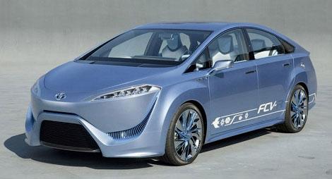 Компания Toyota покажет свое видение автомобилей будущего