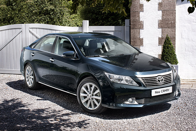 Тестируем новое поколение Toyota Camry