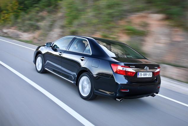 Тестируем новое поколение Toyota Camry. Фото 4