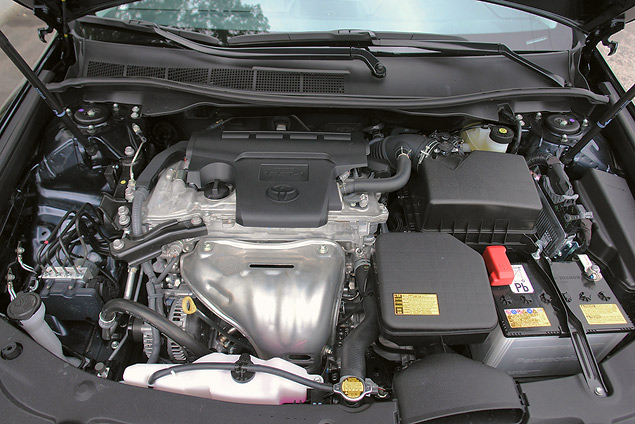 Тестируем новое поколение Toyota Camry. Фото 5