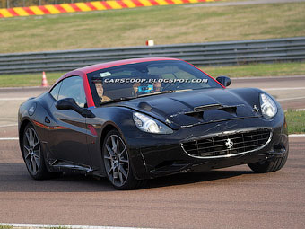 Ferrari California получит турбонаддув