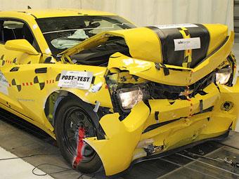 В США проверили безопасность Chevrolet Camaro