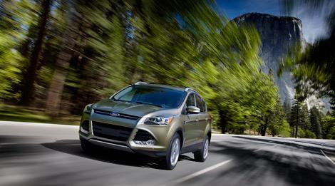 Компания Ford показала фотографии кроссовера Escape, который в Европе будет продаваться под именем Kuga
