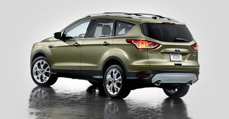 Компания Ford показала фотографии кроссовера Escape, который в Европе будет продаваться под именем Kuga. Фото 1