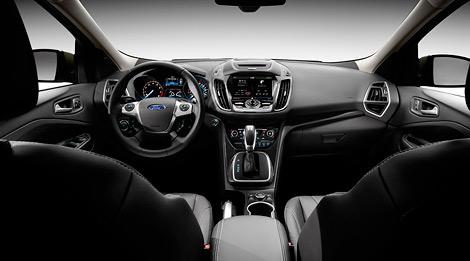 Компания Ford показала фотографии кроссовера Escape, который в Европе будет продаваться под именем Kuga. Фото 2