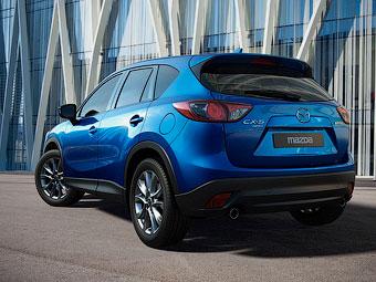 Mazda назвала дату появления кроссовера CX-5 в России