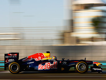 Команда Red Bull вновь стала первой на молодежных тестах Формулы-1