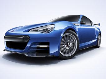 Компания Subaru показала новые изображения купе BRZ