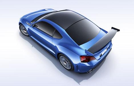 Компания Subaru привезла в Лос-Анджелес прототип заднеприводного купе