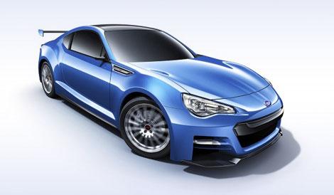 Компания Subaru привезла в Лос-Анджелес прототип заднеприводного купе. Фото 1