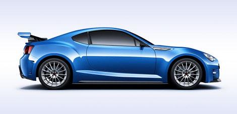 Компания Subaru привезла в Лос-Анджелес прототип заднеприводного купе. Фото 2