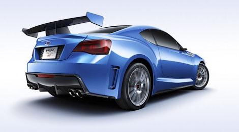 Компания Subaru привезла в Лос-Анджелес прототип заднеприводного купе. Фото 3