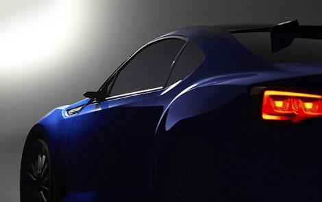 Компания Subaru привезла в Лос-Анджелес прототип заднеприводного купе. Фото 4