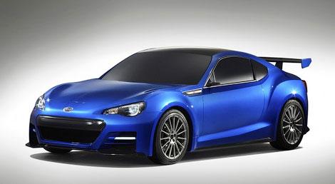 Компания Subaru привезла в Лос-Анджелес прототип заднеприводного купе. Фото 5