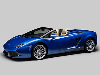 Lamborghini лишила открытый Gallardo полного привода
