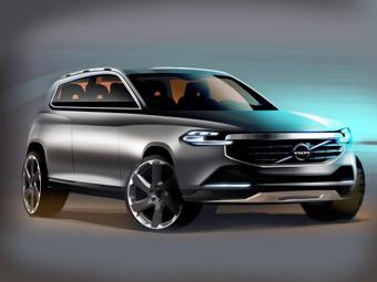 """""""Вольво"""" показала четыре варианта дизайна нового XC90"""