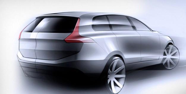 Компания Volvo разрабатывает дизайн внедорожника XC90 следующего поколения