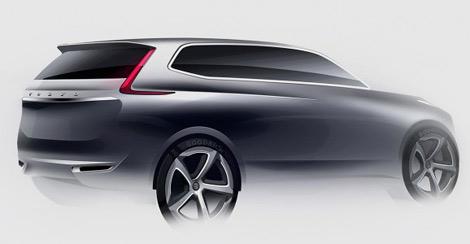 Компания Volvo разрабатывает дизайн внедорожника XC90 следующего поколения. Фото 2