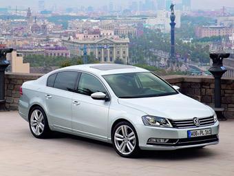 Спрос на седаны Volkswagen Passat в Европе вырос в 1,5 раза