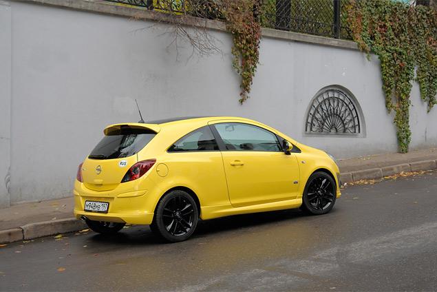 Длительный тест Opel Corsa: четвертая часть
