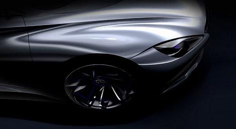 В марте 2012 года компания Infiniti покажет концептуальный спортивный электрокар