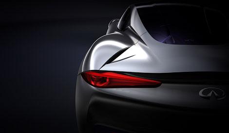 В марте 2012 года компания Infiniti покажет концептуальный спортивный электрокар. Фото 1