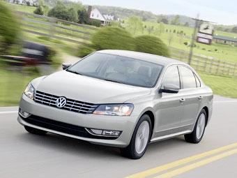 """VW Passat назвали в США """"Автомобилем года"""""""
