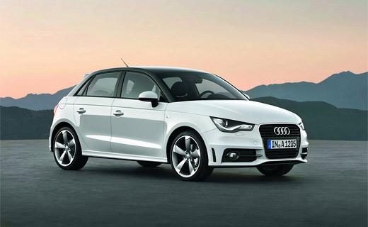 Audi добавила пару дверей хэтчбеку A1