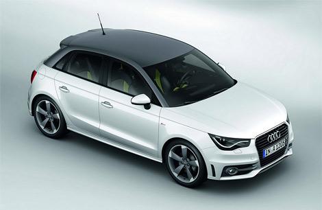 Компания Audi представила пятидверную модификацию компактного хэтчбека A1