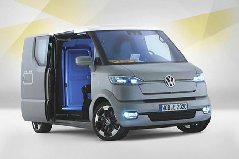 Volkswagen представил в Потсдаме концепт-кар под названием eT!