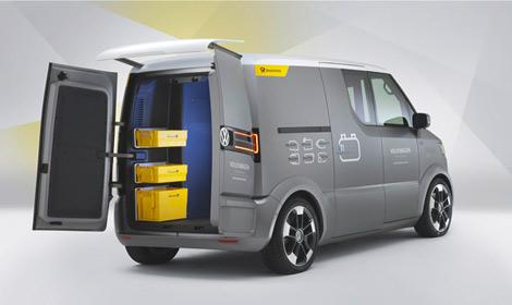 Volkswagen представил в Потсдаме концепт-кар под названием eT!. Фото 1
