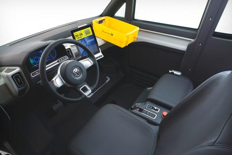 Volkswagen представил в Потсдаме концепт-кар под названием eT!. Фото 3