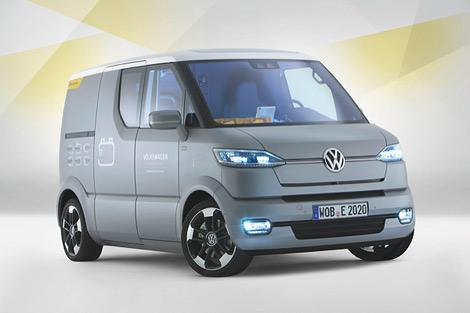 Volkswagen представил в Потсдаме концепт-кар под названием eT!. Фото 4