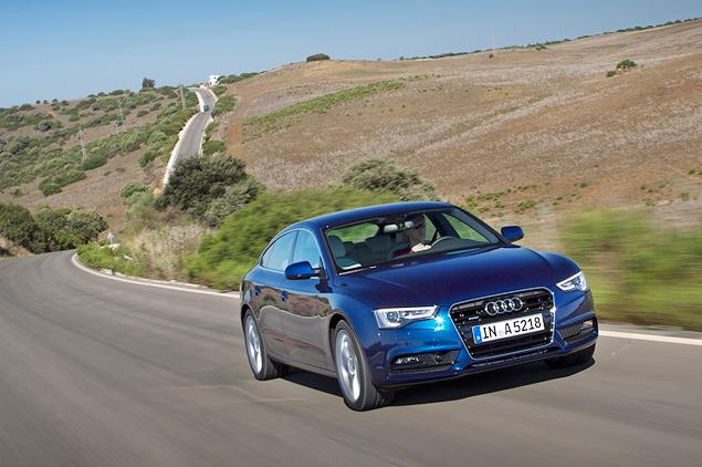 Ищем новшества в рестайлинговой Audi A5. Фото 1