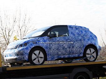 Фотошпионы засняли почти серийный BMW i3