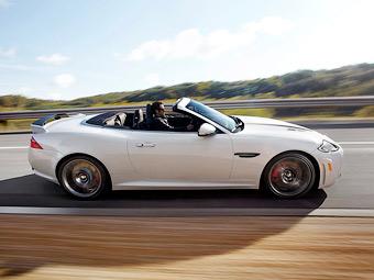 Стали известны рублевые цены на самый мощный Jaguar XK