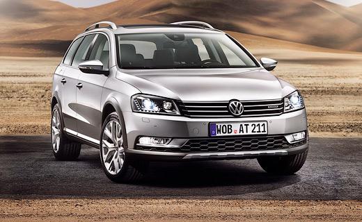"""VW привезет в Токио """"внедорожный"""" Passat"""