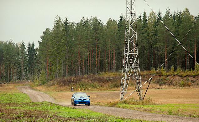 Один день в роли финского раллиста. Фото 6