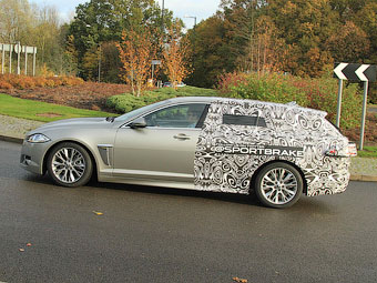 Универсал Jaguar XF будет называться Sportbrake