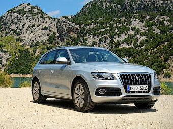 Компания Audi назвала российские цены на гибридный кроссовер Q5
