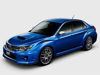 Subaru представила экстремальную Impreza WRX STI