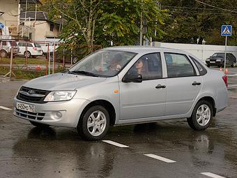 Серийный выпуск седана Lada Granta стартует 29 ноября
