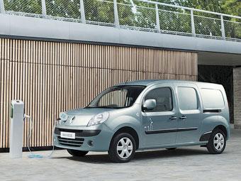 """Электрический Renault Kangoo назвали """"Лучшим фургоном 2012 года"""""""