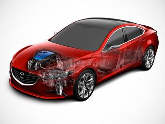 """На автомобилях Mazda появится """"Интеллектуальная энергетическая петля"""""""