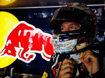 Себастьян Феттель стал быстрейшим в тренировке Формулы-1 в Бразилии