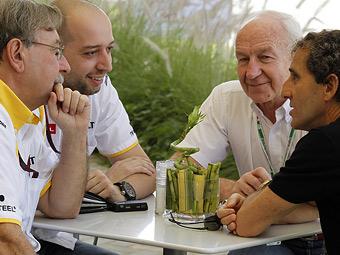 Команда Renault определится с составом пилотов в течение двух недель