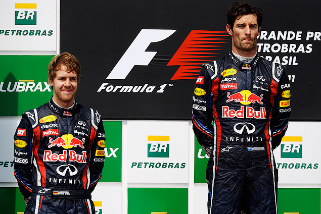 Марк Уэббер одержал первую победу в последней гонке сезона. Фото 6