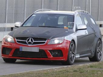 """Mercedes-Benz готовит """"Черную серию"""" универсала C-Class"""