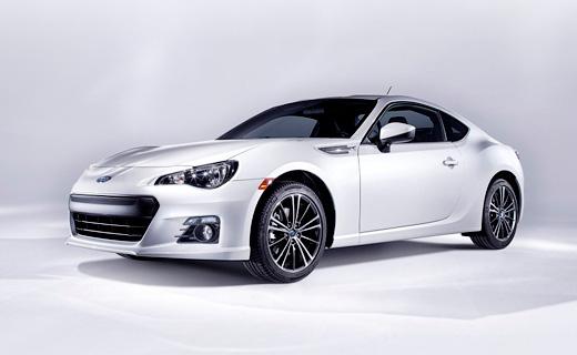 Компания Subaru рассекретила спорткупе BRZ